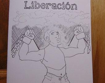 PDF Liberación Poetry Zine By Nik Moreno   Liberación Chap Book   QTPOC Poetry   Chicano Poetry