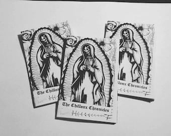 The Chillonx Chronicles A Mini Zine by Nik Moreno   Crybaby Zine   Mental Health Zine