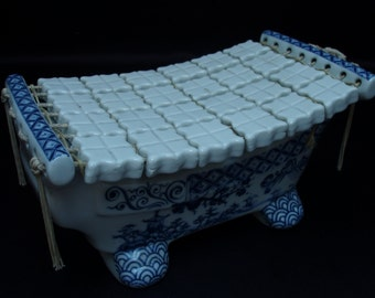 TOUCHIN Chinese Antique Vintage Pottery & Porcelain Pillow