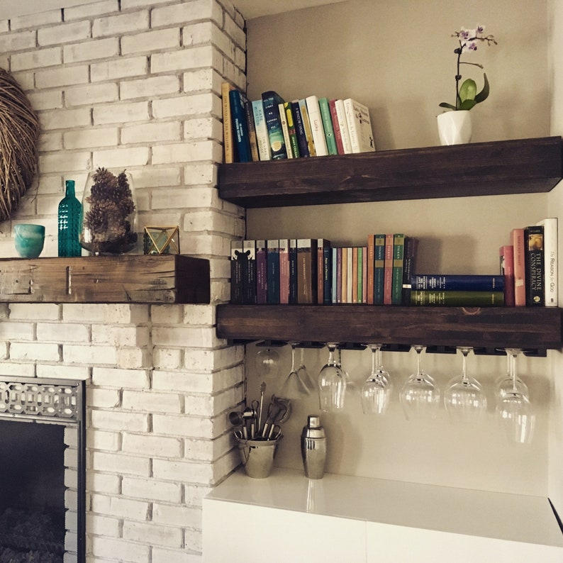 shelves for wine glasses , bar shelf, floating shelf, wine glass  shelf,floating shelves, kitchen shelves,bar shelf, kitchen shelf,wood shelf