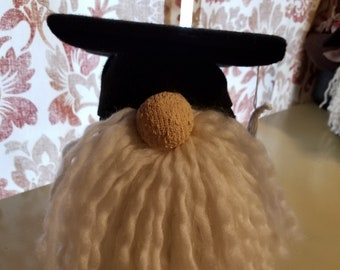 The Graduate - Graduation Gnome - OOAK