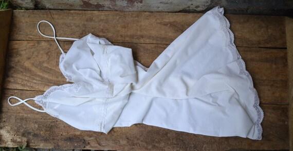 Old silk camisole, silk like camisole, antique cam