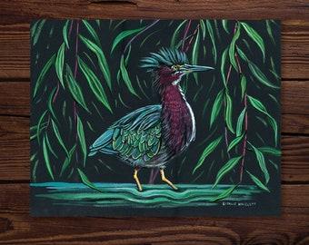 Green Heron - Fine Art Print