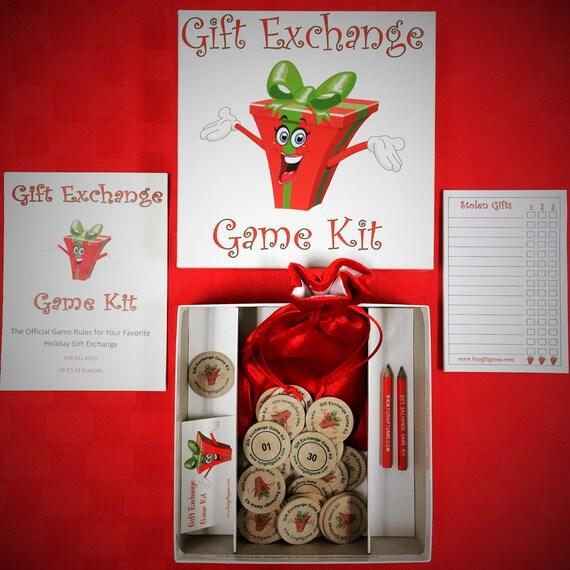 Gift Exchange Game Kit Etsy