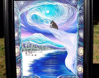 Mammoth Window - Original - framed . 2015