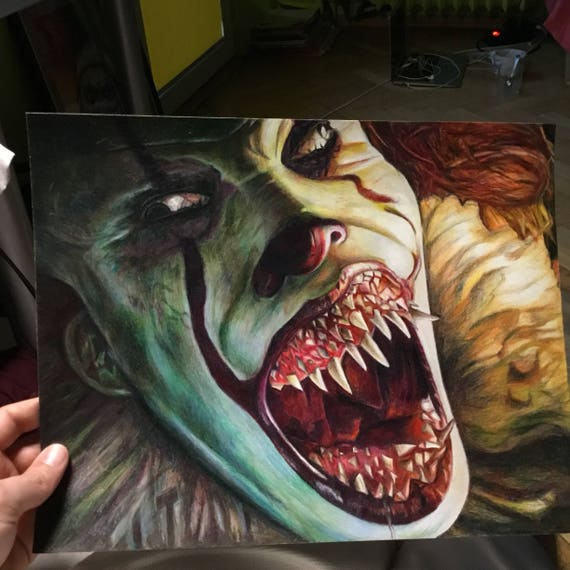 new pennywise it eats you up etsy