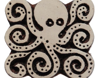 Wooden   Printing Stamp Block to Print Fabrics for Indian traditional motif design  Craft ZEPS132