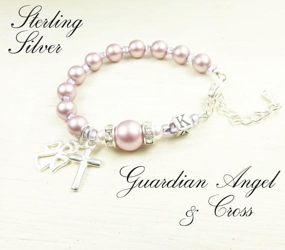Gift Bag Gaurdian Angel Pram Charm Cross