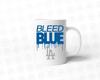 Bleed Blue LA - 11oz Coffee Mug