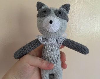 Chester the Crochet Raccoon