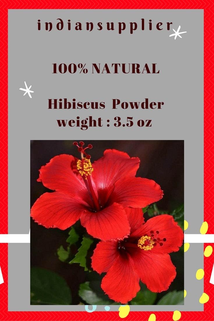 Hibiscus flower petal powder stimulate hair growth stop hair etsy zoom izmirmasajfo