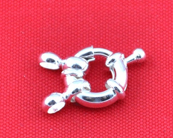 High Quality 5 row Jewelry Clasp,5 Pcs Steering Wheel Clasps Connector,Golden Plated Clasp,NecklaceBracelet Clasp,Clasp Findings--CL009