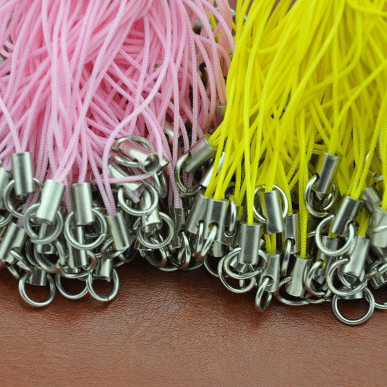 100 pcs Cellphone Strap / Lanyard/Cell Phone Strap  Cell image 0
