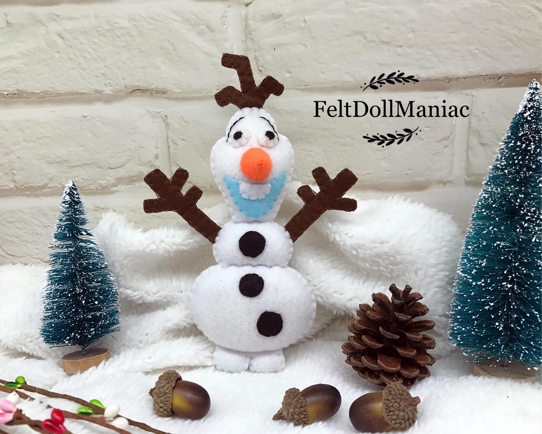 Olaf Doll. Frozen. PDF Pattern and Tutorial. Snowman. Winter. | Etsy