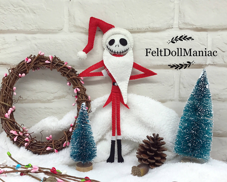 Jack Skellington As Santa. The Nightmare Before Christmas. | Etsy