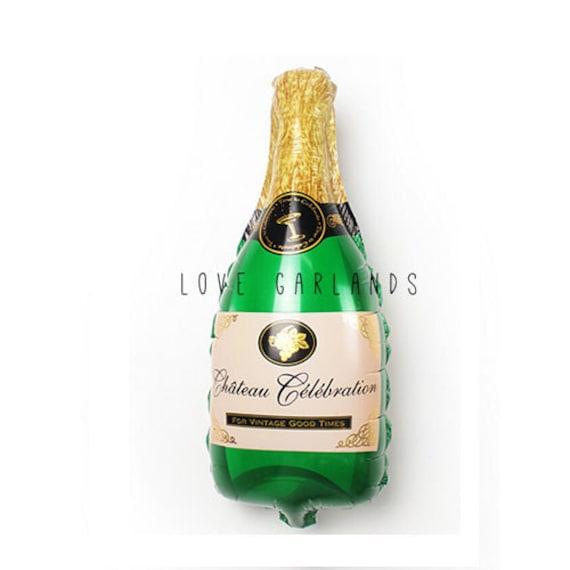 """16/"""" Joyeux Anniversaire Ballons Mariage Anniversaire Bouteille de Champagne baloons"""