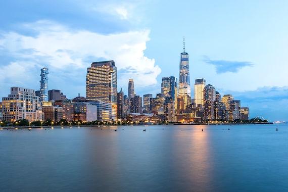 New York Skyline Wall Decor from i.etsystatic.com