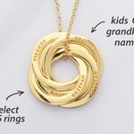 Grandma Gift • Christmas Gifts For Grandma • Grandma Necklace With Names • Mother Necklace • Grandmother Jewelry Necklace • Grandmother Gift