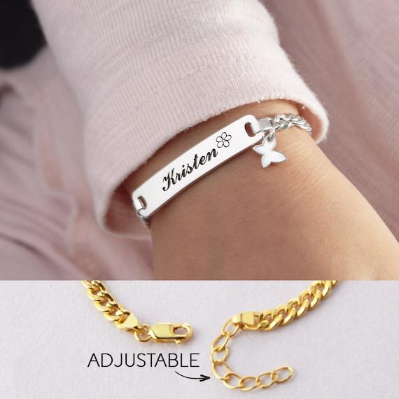 Toddler Bracelet Personalised 3-6 Years