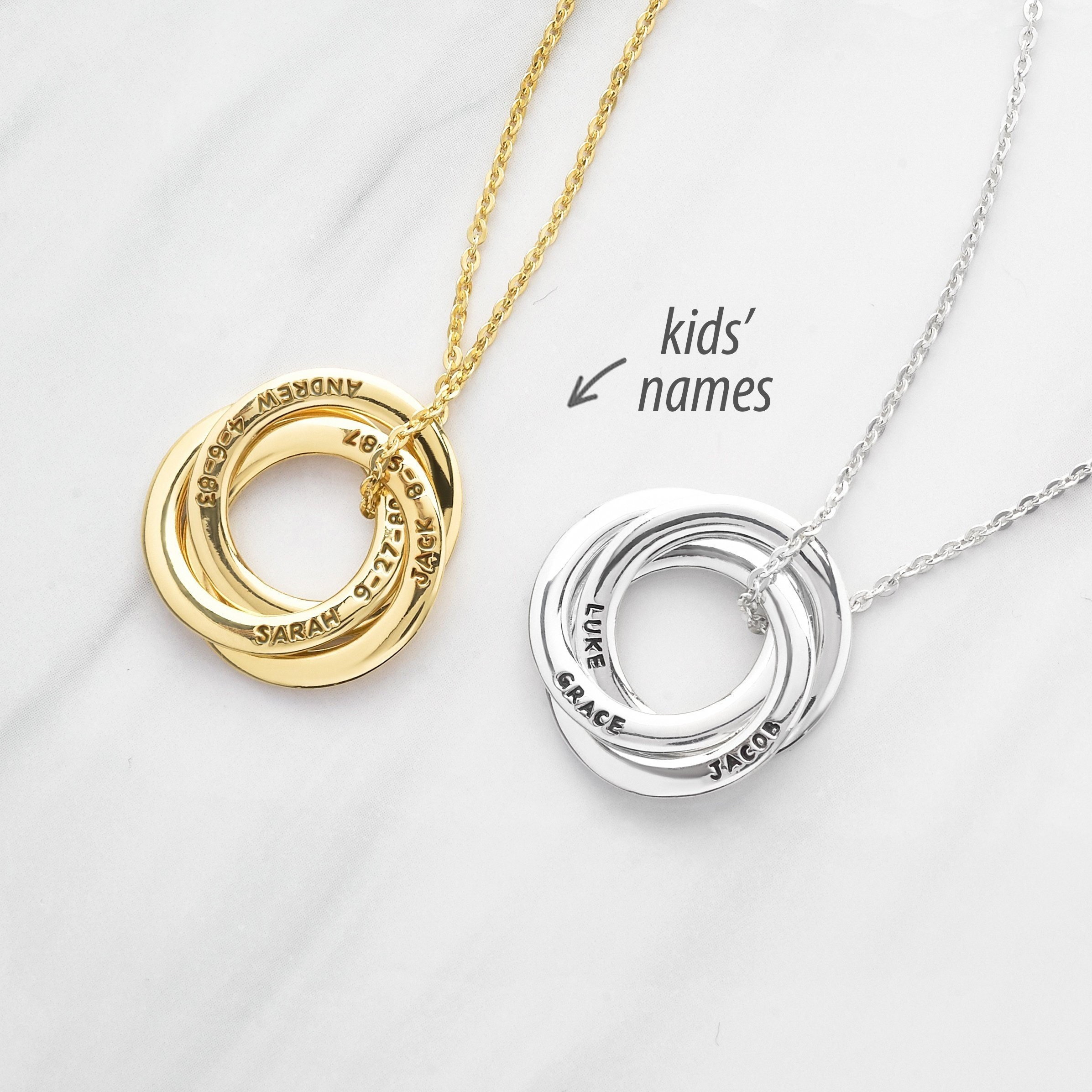 Mom Necklace Personalized Mother Necklace Premium Mothers ...