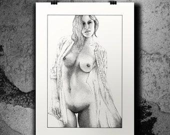 Linda - Screen print poster