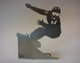 """snowboarder - """"race alpin"""" - decorative object for the desk Christmas"""
