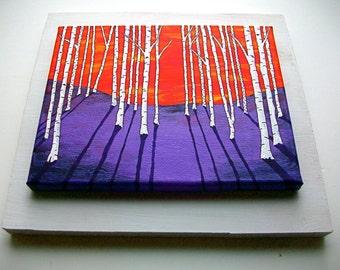 "Raised Platform Art Frame 11 1/4"" x 12"" By Mike Kraus"