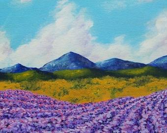 Lavender In Provence (ORIGINAL DIGITAL DOWNLOAD) by Mike Kraus