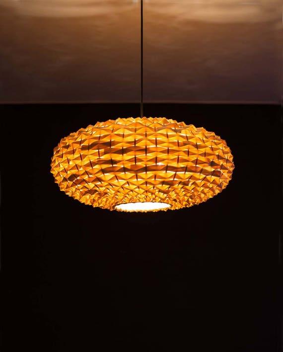 Hand Woven Oval Shape Bamboo Light Fixtures Pendant Lights Hanging Lamp Fixture Dining Room Lighting Bar Or Restaurant