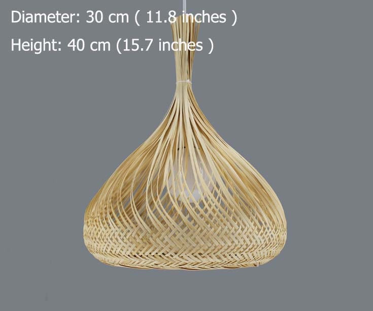 Lovely Girl\'s Braid Lighting  Bamboo Lighting  Bamboo