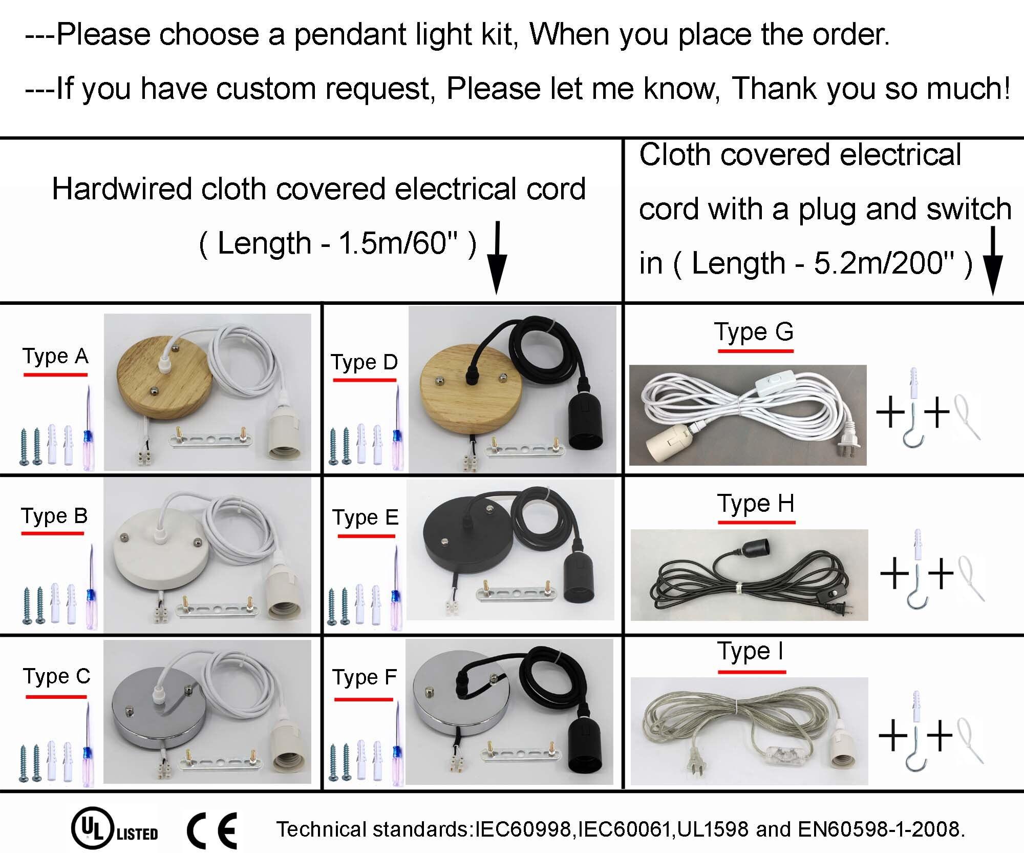 New Handwoven Process Rattan Pendant Light  Bucket-Shaped