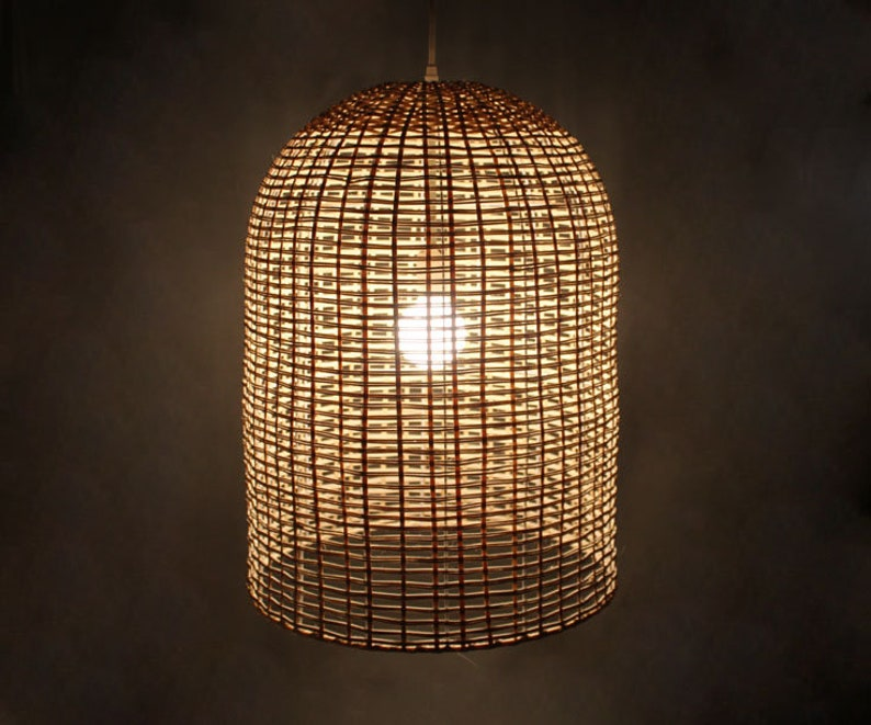 New 220v Rattan Ball Shape Lamp Shades For Table Lamp Night Light For Bedroom Living Room Indoor Lighting To Ensure Smooth Transmission Led Lamps