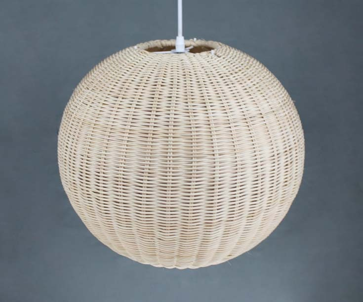 Cane Ball Pendant Lights-Decor Lamps-Restaurant Lighting-Home