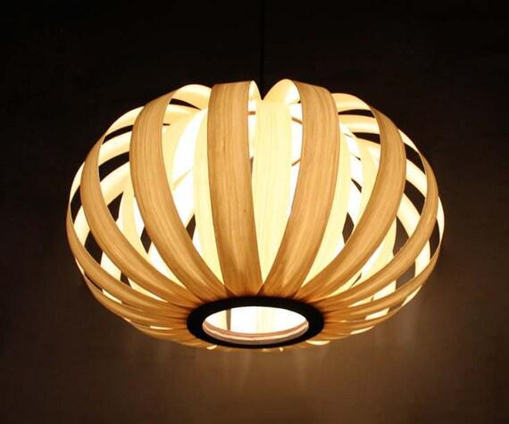 cheaper 0883f 7e9d5 Thin Wooden Paper Pendant Lights-Decorative Lighting-Creative lighting  Fixtures-Decorative Lamps- 110-240 V/50-60Hz