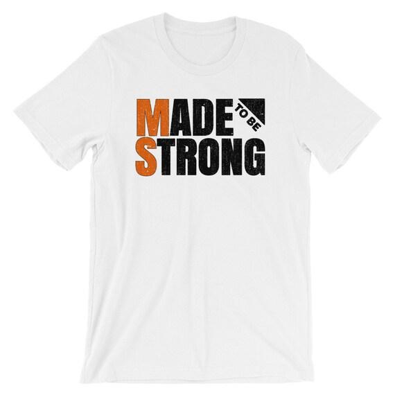 MS Warrior Cute Multiple Sclerosis Awareness T-Shirt MS Tee