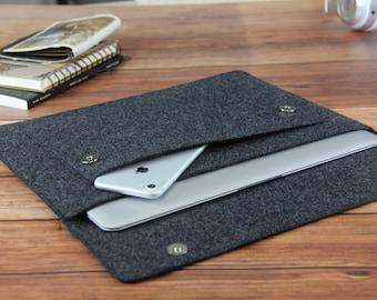 """felt Macbook Air 13.3"""" sleeve Macbook 13 case Macbook Air cover Macbook case Macbook cover Laptop sleeve  H-006"""
