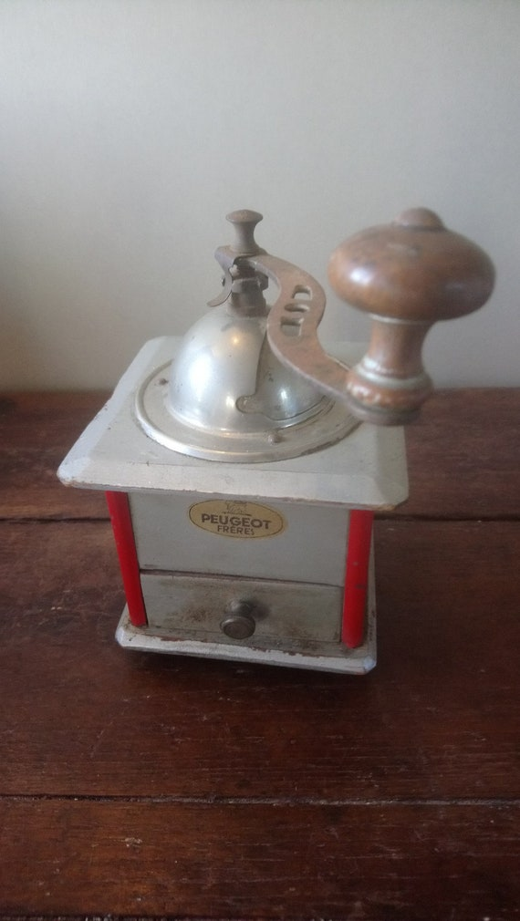 Vintage French Peugeot coffee grinder