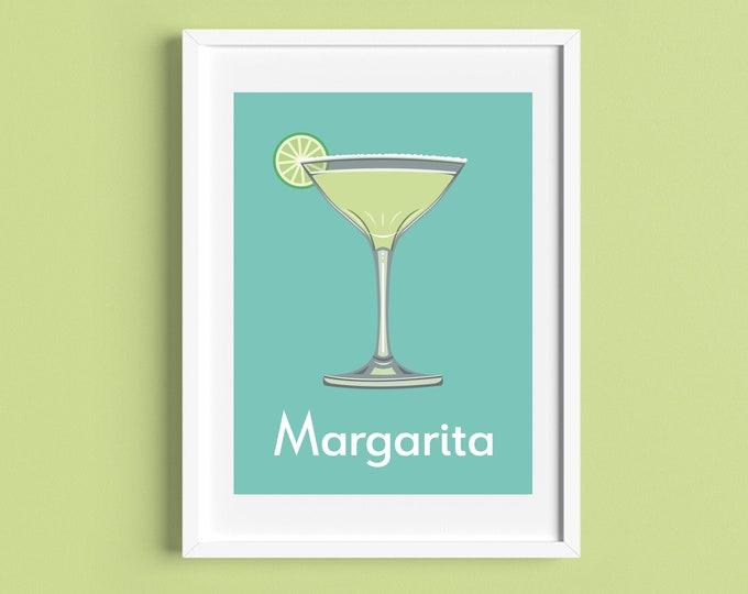 MARGARITA COCKTAIL A4/A5 Print