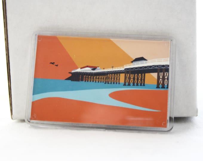 Cromer Pier themed Fridge magnet 'Cromer Pier' by Rebecca Pymar