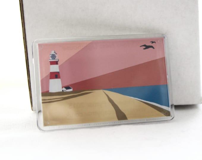 Lighthouse themed Fridge magnet 'Orford Ness Lighthouse' by Rebecca Pymar