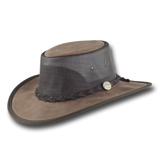31ea0cb32e1 Barmah Hats 1078BR Squashy Mustang Cooler Hat in Brown