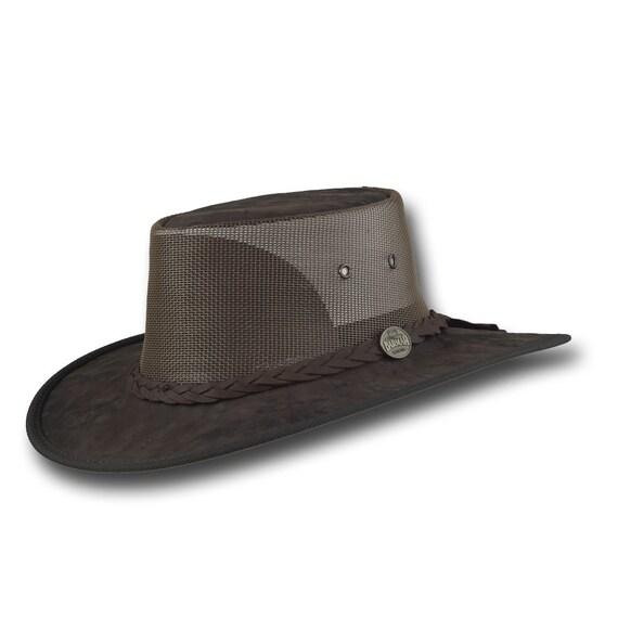 Barmah sombreros 1038BC canguro enfriador cuero sombrero en  106b9f74c14