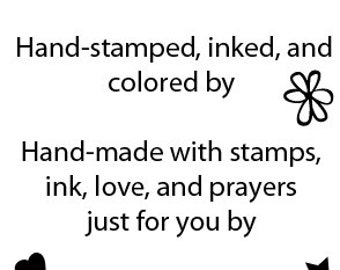 Inspired Stamps... Single Photopolymer Stamp MADE BY...  ...NEW