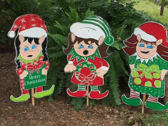 outdoor christmas , yard decorations , wooden holiday , yard art