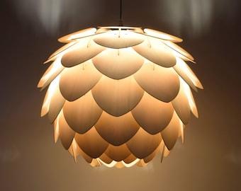 Pine Cone Lamp Etsy