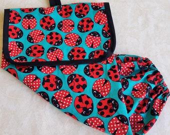 Ladybug Plastic Bag Holder