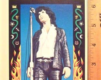 "DOORS / Jim Morrison * Promo Postcard * ArtRock, SF * Philip Cushway Litho * Gary Grimshaw, Artist * Vintage * Original * 1991 * 6-3/8""x4"""