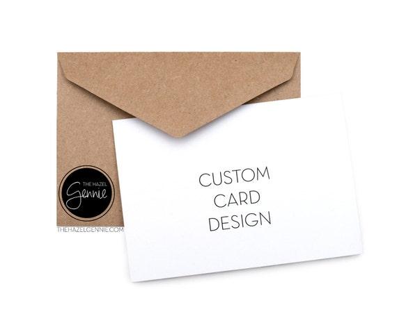 Custom folded greeting card m4hsunfo
