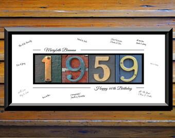 60th Birthday Gift For Him 60th Birthday Gift For Men 60th Birthday Party Decorations 60th Birthday Sign 1959 Birthday Decor Ideas  sc 1 st  Etsy & Mens 60th birthday | Etsy