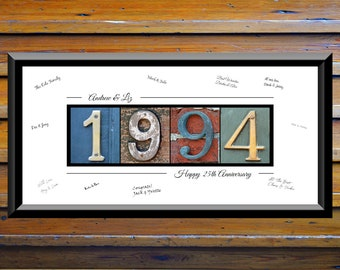 25th Wedding Anniversary Gifts For Parents Men Gift Husband Silver 1994